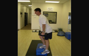 Lateral Step Ups
